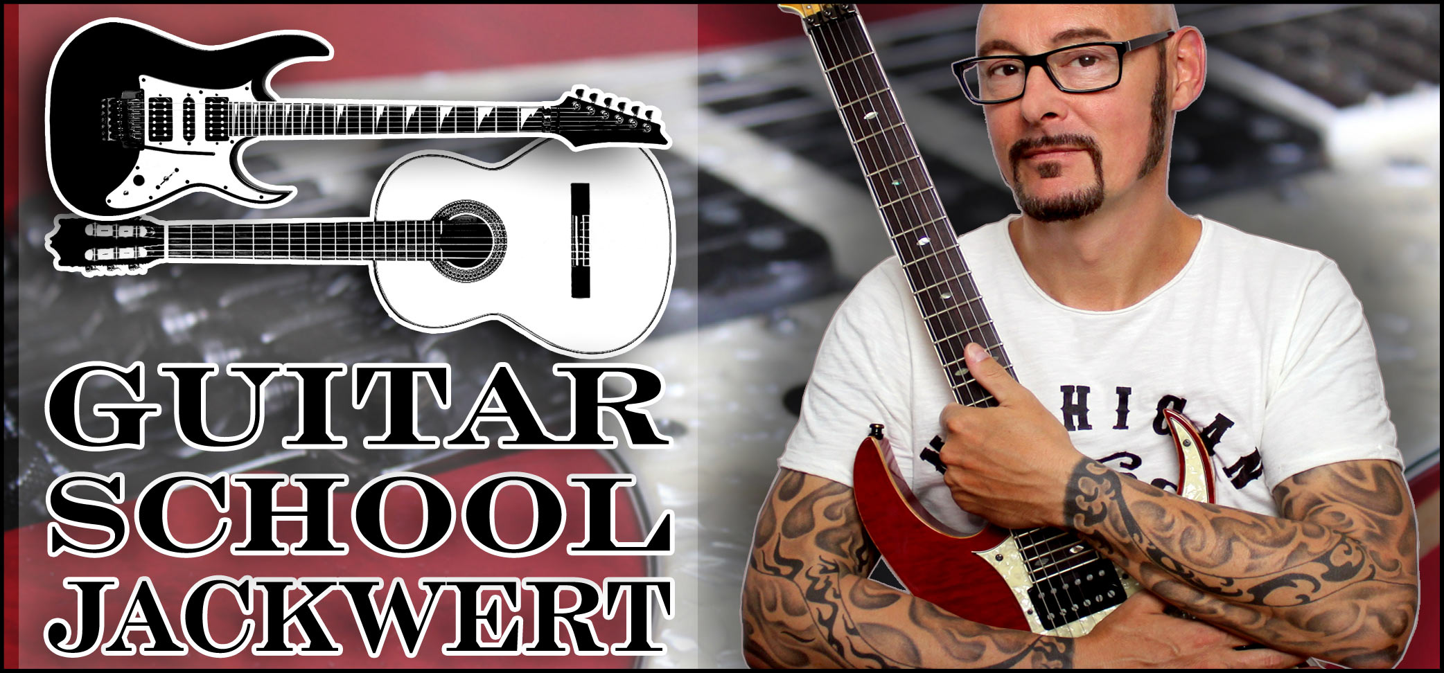 Gitarrist und Gitarrenlehrer Olaf Jackwert